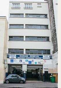 Contact garage r beval for Garage hyundai paris 18